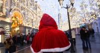 Московские новогодние гулянья посетили свыше десяти миллионов человек