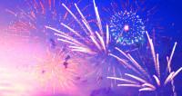 Светлая ночь: мир встретил Новый год яркими салютами