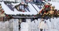 Первый снег нового года: москвичи поспешили на праздничные улицы