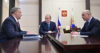 Путин обсудил с Силуановым и Пучковым вооружение МЧС