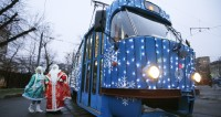 Общественный транспорт Москвы перевез в Новый год полмиллиона человек