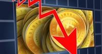 Курс биткоина упал до $12 тысяч