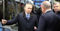 Путин рассказал о строительстве нового моста через Волгу