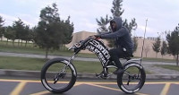 Житель Баку собирает эксклюзивные велосипеды