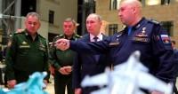 Путин посетил выставку, посвященную военной операции в Сирии