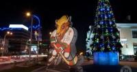 Море огней, звезды и питомцы: как Минск встретил Новый год