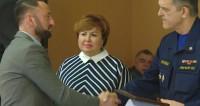 Московские спасатели наградили журналиста телеканала «МИР 24»