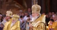 Патриарх Кирилл провел «детскую литургию»