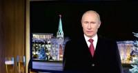 «Теплое и душевное»: россиянам понравилось новогоднее обращение Путина