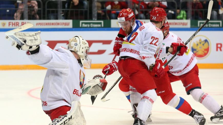 Сборная России по хоккею обыграла Беларусь