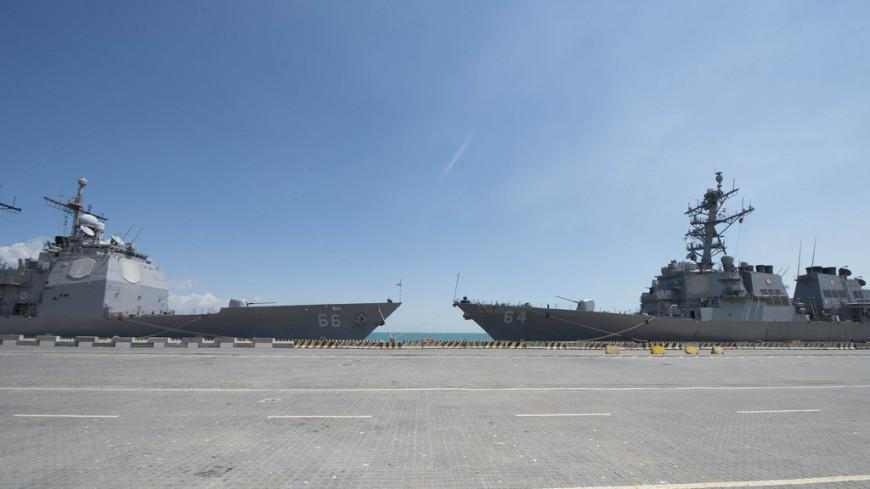 В одесский порт зашел сорвавший парад в Петербурге эсминец США