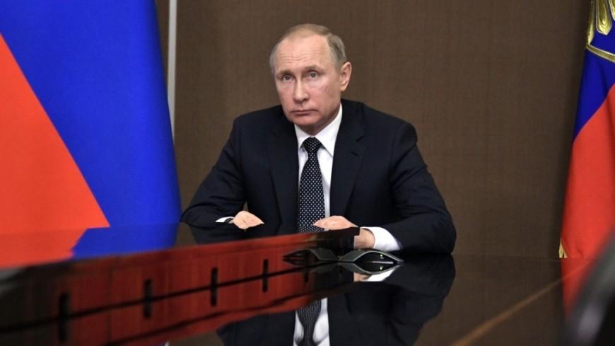 Путин: Успехи в экономике страны – результат труда россиян