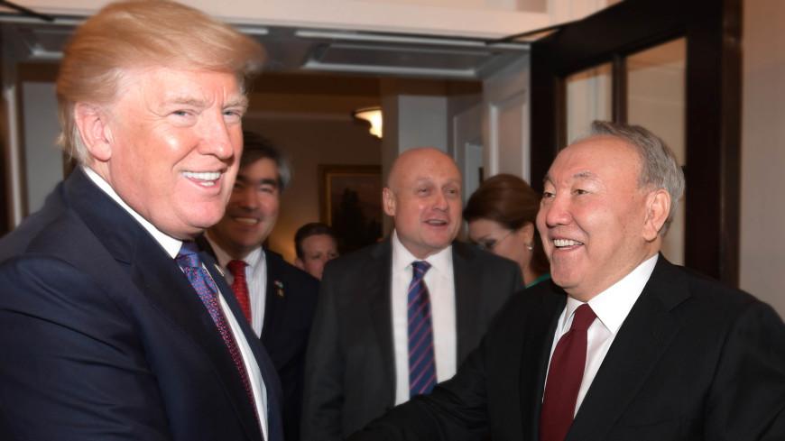 Трамп без перевода понял шутку Назарбаева на русском языке