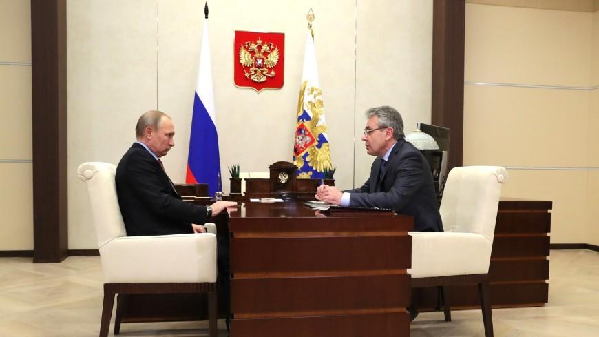 «Все у Вас пока получается»: Путин оценил работу нового президента РАН