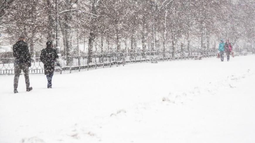 Японию засыпало снегом