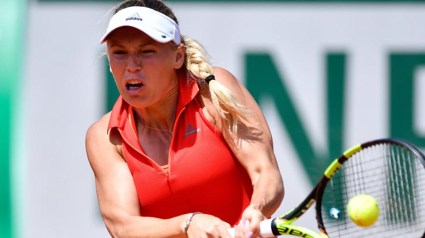 Возняцки выиграла свой первый турнир серии «Большого шлема»