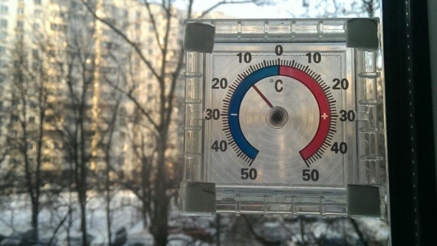 В Москве удержится десятиградусный мороз