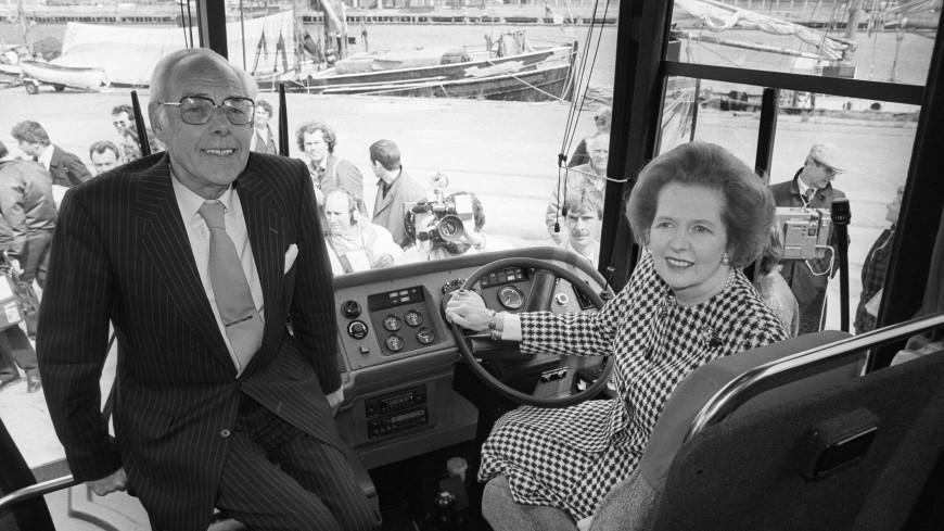Бронированный автобус Маргарет Тэтчер выставили на продажу