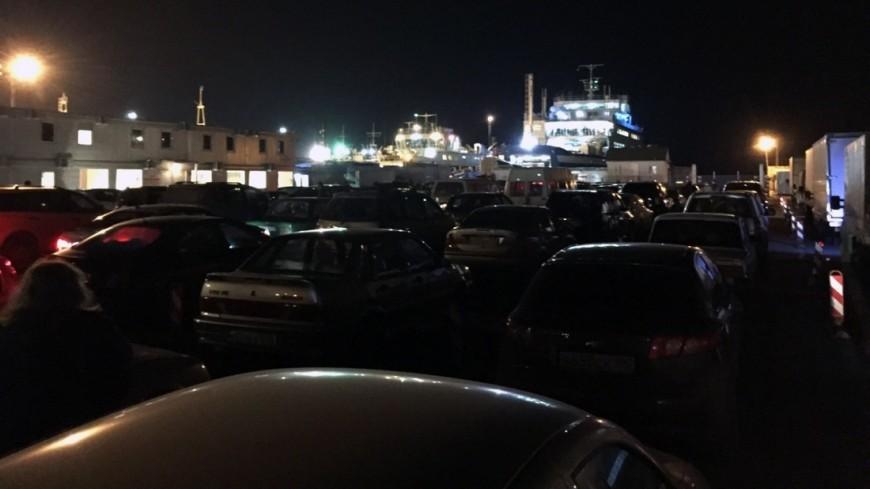 Рассеялось: переправа в Крым возобновила работу