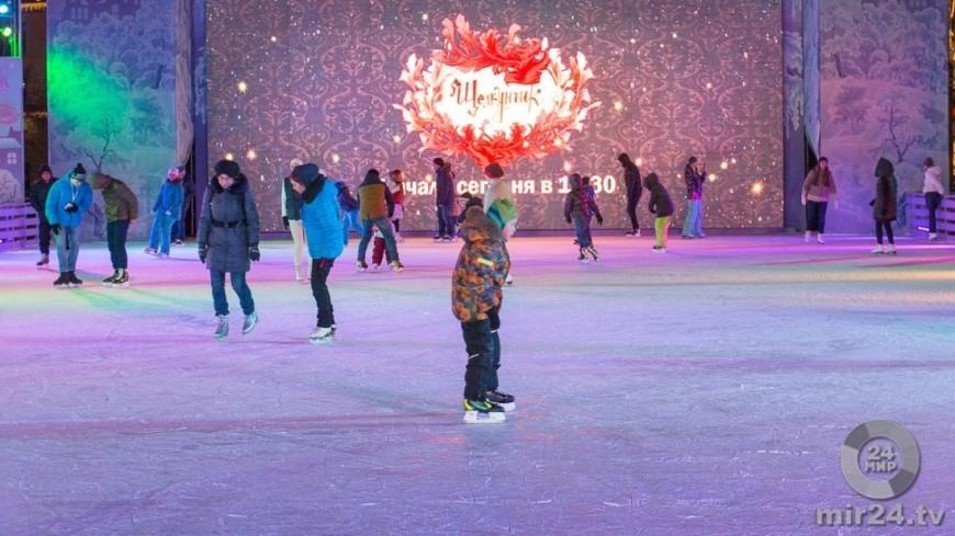 В Москве залили более 1,2 тысячи катков с натуральным льдом