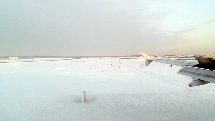 Снегопад не дает взлететь британским самолетам