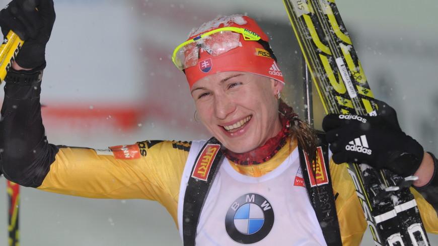 Биатлонистка Кузьмина выиграла спринт на этапе КМ в Оберхофе
