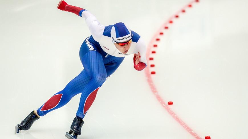 Конькобежка Голикова завоевала бронзу на этапе Кубка мира