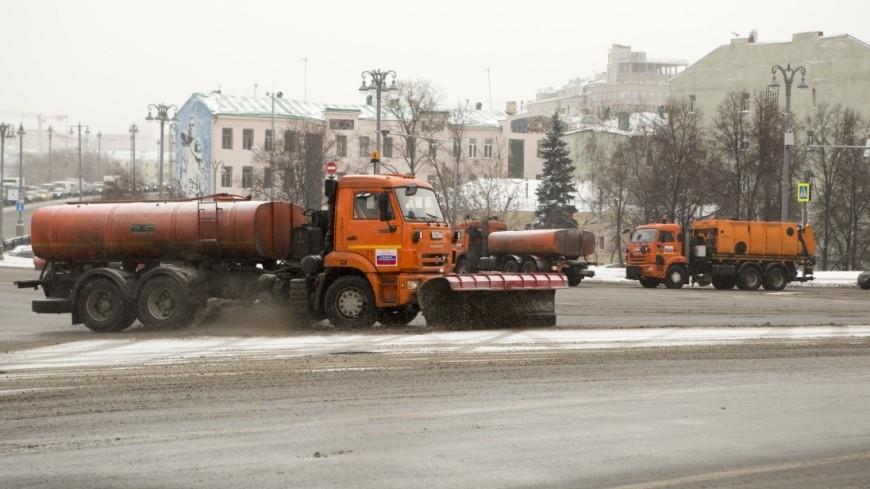 С улиц Москвы вывезли более двух миллионов кубометров снега