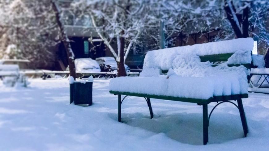 К концу понедельника толщина снежного покрова в Москве увеличится на 20 см