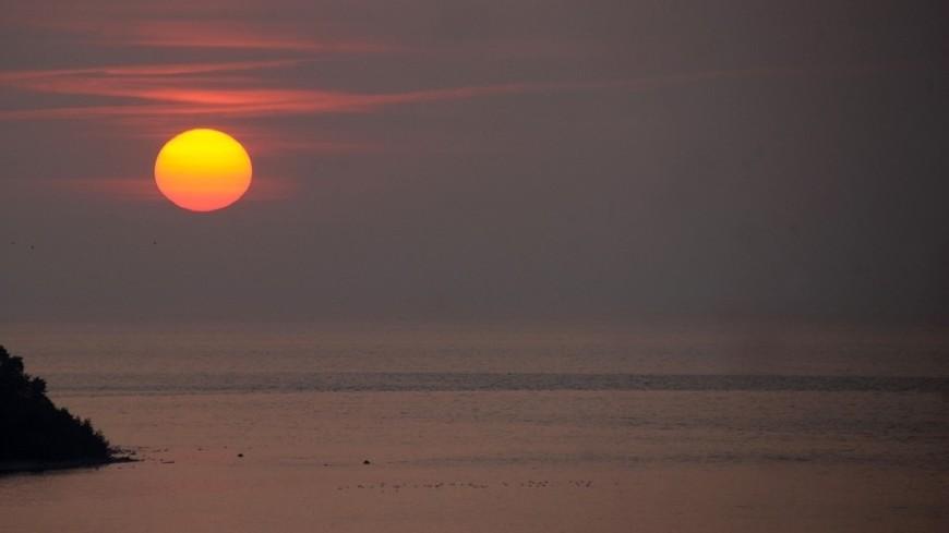 пляж, природа, отпуск, закат