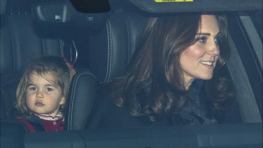 Принцесса Шарлотта Кембриджская пошла в детский сад
