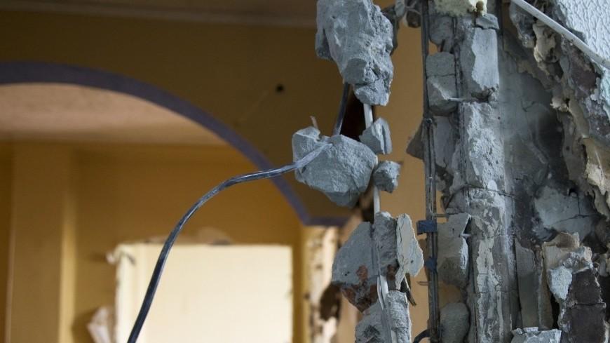 Взрыв водонагревателя в Ленобласти вынес стену