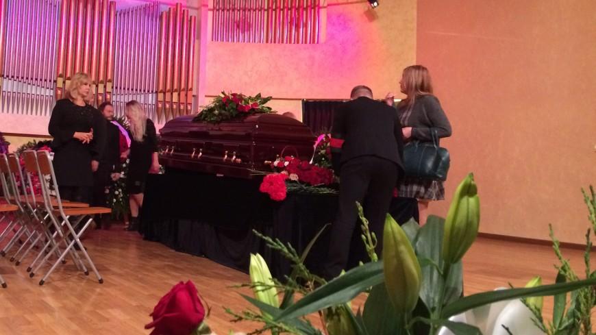 Владимира Шаинского похоронили на Троекуровском кладбище