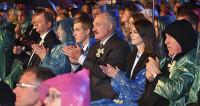 Лукашенко принял участие в Купалье на своей малой родине