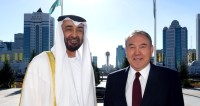 Назарбаев принял наследного принца ОАЭ
