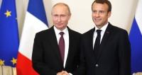 Елисейский дворец: Путин и Макрон встретятся в благоприятный момент