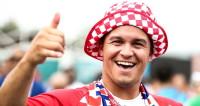 Хорватские болельщики уже отмечают на Красной площади победу на ЧМ