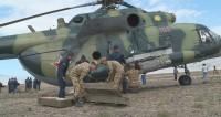Точно в цель: кыргызстанские вертолетчики отточили навык прицельной стрельбы