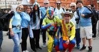 Фанаты, Болельщики, ЧМ, Болельщик Колумбии, Болельщик Уругвая, Болельщик Аргентины