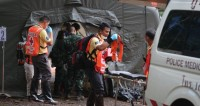 Спасенных из таиландской пещеры детей могут выписать в четверг