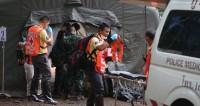 Шестого и седьмого ребенка вывели из затопленной пещеры в Таиланде