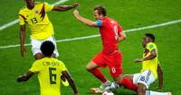 Гарри Кейн открыл счет в матче с Колумбией
