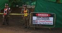 ВМС Таиланда сообщили о спасении всех школьников из пещеры