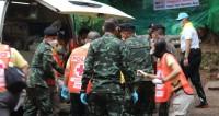 В Таиланде засекретили информацию о спасении детей из пещеры