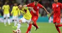 Упорный матч: Колумбия и Англия до перерыва голов не забили