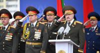 Военный парад в Минске в честь Дня независимости (ФОТО)