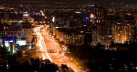 В центре Алматы установили огромную белку