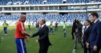 Путин поблагодарил Черчесова за блестящую игру сборной