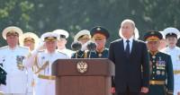 Путин: В России продолжат укреплять, развивать и оснащать ВМФ