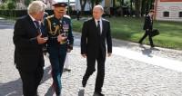 Путин осмотрел новый корпус Нахимовского училища